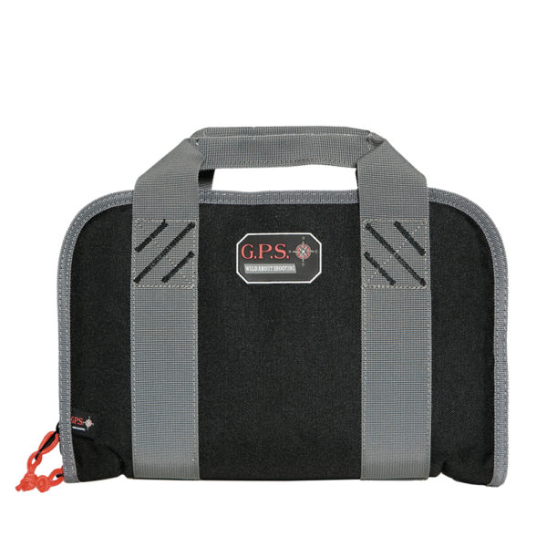 Double Pistol Case W/mag Storage & Dump Cup