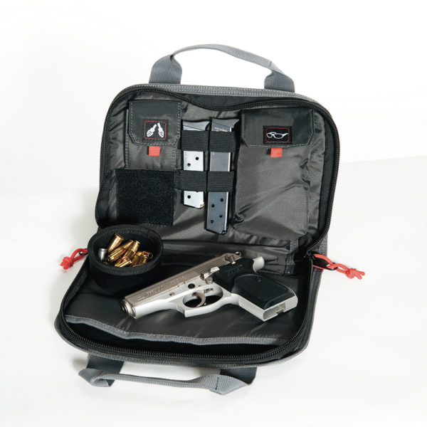 "Double ""compact Pistol"" Case W/mag Storage & Dump Cup"