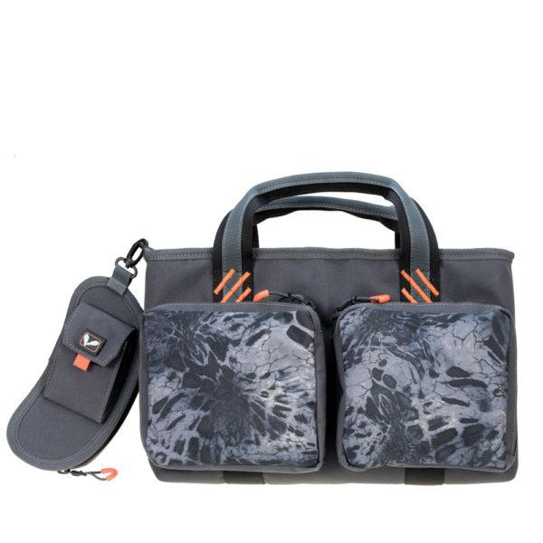 Double Pistol Range Bag W/ Mag Storage And Glasses Case