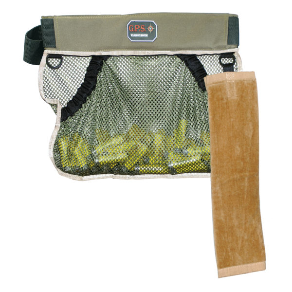 Mesh, Half Shooting Vest, With Back Pouch