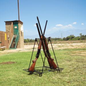 Portable Camp Gun Stand