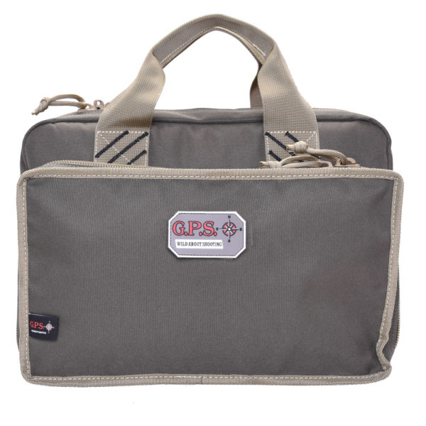 Quad Pistol Range Bag W/mag Storage & Dump Cups