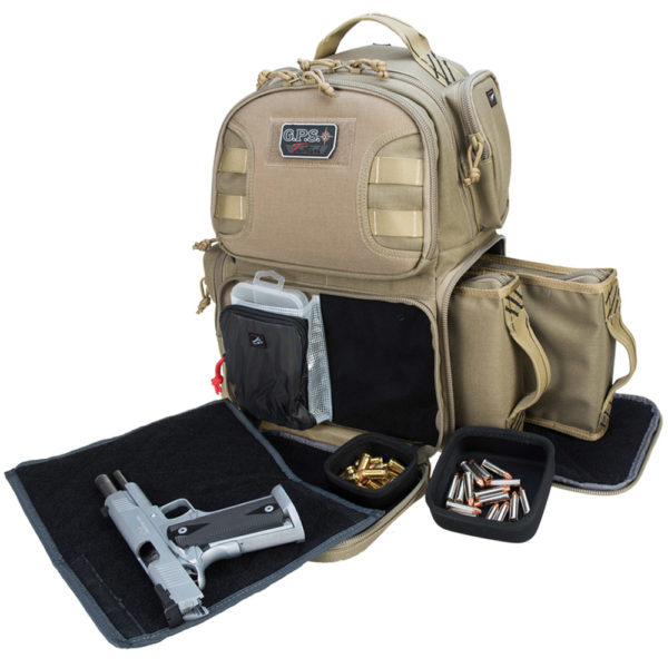 Tactical Range Backpack Holds 2 Handguns