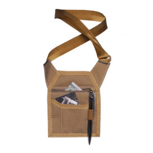 Tactical Credential Holder W/lanyard & Zip Back Pocket