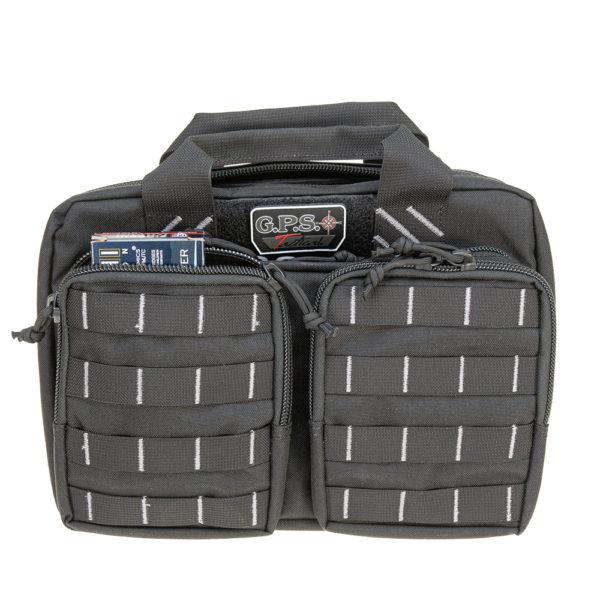 Tactical Quad + 2 Pistol Range Bag